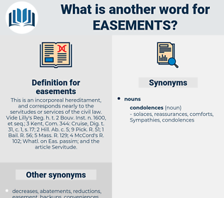 easements, synonym easements, another word for easements, words like easements, thesaurus easements