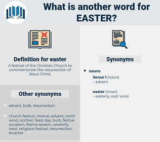 easter, synonym easter, another word for easter, words like easter, thesaurus easter