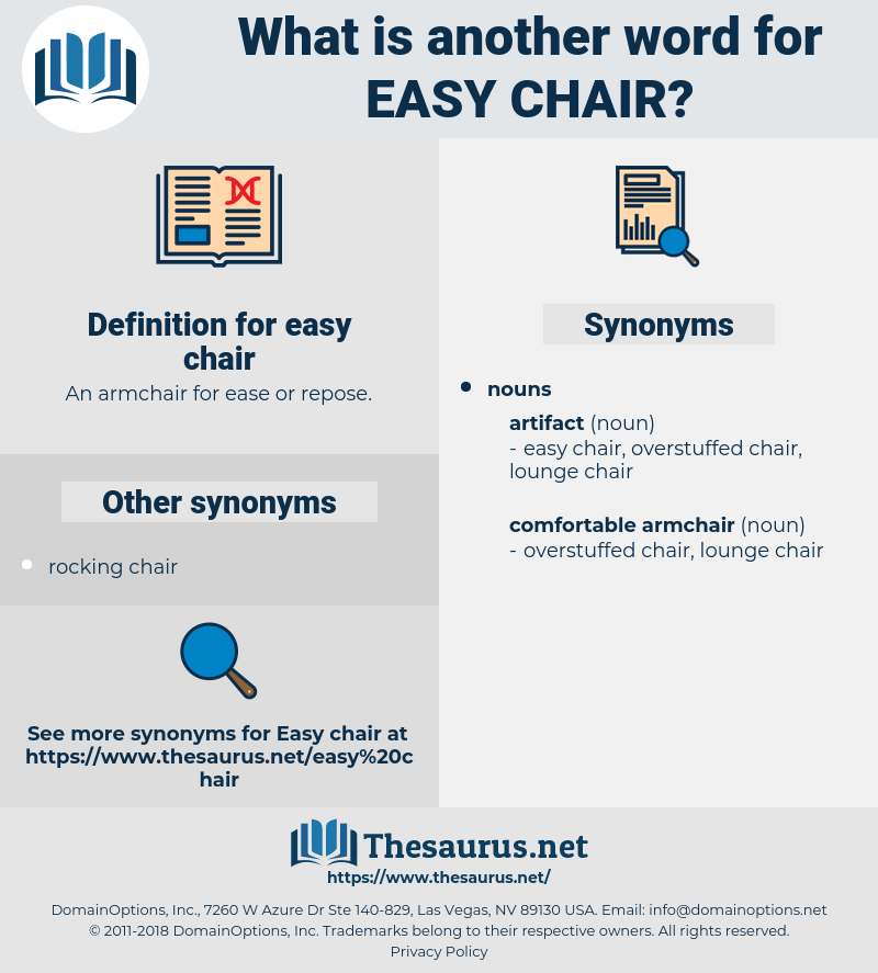 easy chair, synonym easy chair, another word for easy chair, words like easy chair, thesaurus easy chair