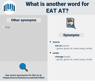 eat at, synonym eat at, another word for eat at, words like eat at, thesaurus eat at