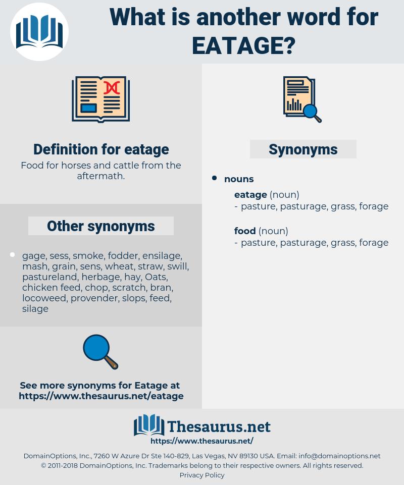 eatage, synonym eatage, another word for eatage, words like eatage, thesaurus eatage