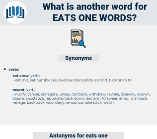 eats one words, synonym eats one words, another word for eats one words, words like eats one words, thesaurus eats one words