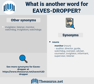 eaves-dropper, synonym eaves-dropper, another word for eaves-dropper, words like eaves-dropper, thesaurus eaves-dropper