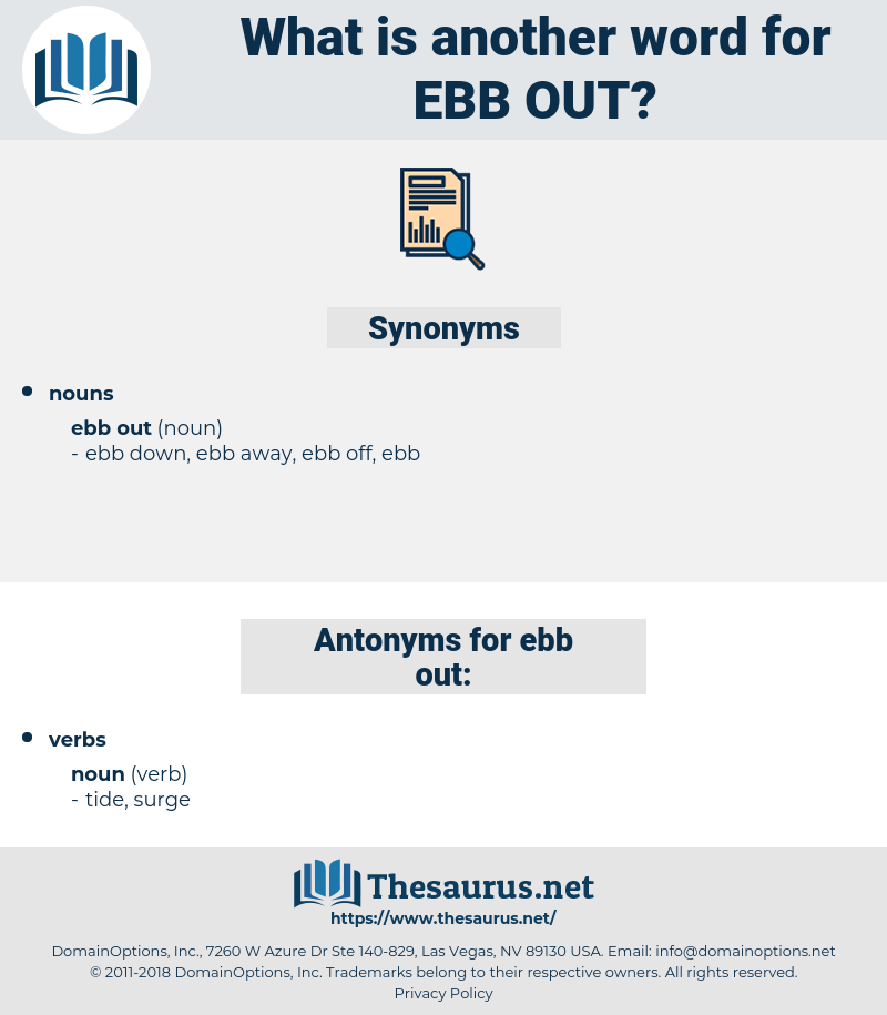 ebb out, synonym ebb out, another word for ebb out, words like ebb out, thesaurus ebb out