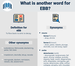 ebb, synonym ebb, another word for ebb, words like ebb, thesaurus ebb