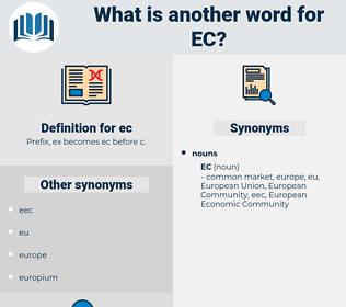 ec, synonym ec, another word for ec, words like ec, thesaurus ec