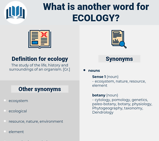 ecology, synonym ecology, another word for ecology, words like ecology, thesaurus ecology