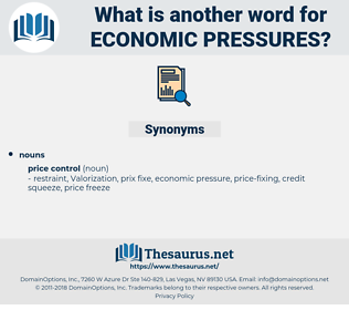 economic pressures, synonym economic pressures, another word for economic pressures, words like economic pressures, thesaurus economic pressures