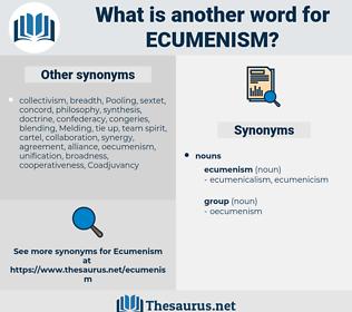 ecumenism, synonym ecumenism, another word for ecumenism, words like ecumenism, thesaurus ecumenism