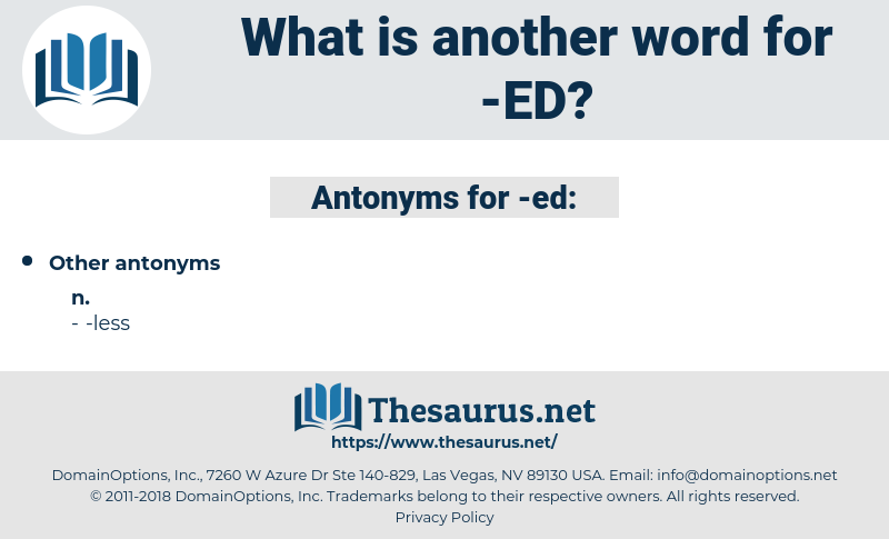 ed, synonym ed, another word for ed, words like ed, thesaurus ed