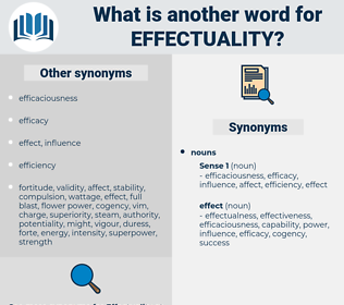 effectuality, synonym effectuality, another word for effectuality, words like effectuality, thesaurus effectuality