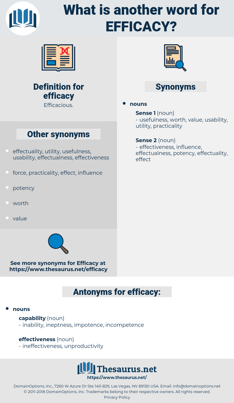 efficacy, synonym efficacy, another word for efficacy, words like efficacy, thesaurus efficacy