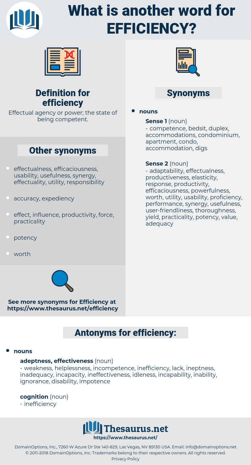 efficiency, synonym efficiency, another word for efficiency, words like efficiency, thesaurus efficiency