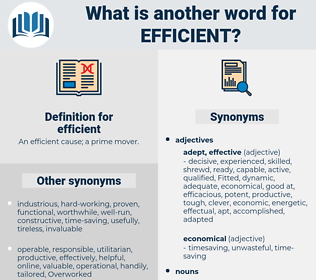 efficient, synonym efficient, another word for efficient, words like efficient, thesaurus efficient