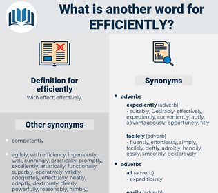 efficiently, synonym efficiently, another word for efficiently, words like efficiently, thesaurus efficiently