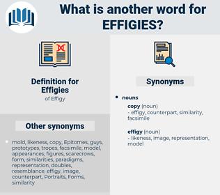 Effigies, synonym Effigies, another word for Effigies, words like Effigies, thesaurus Effigies