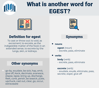 egest, synonym egest, another word for egest, words like egest, thesaurus egest