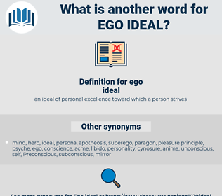 Synonyms for EGO IDEAL - Thesaurus.net