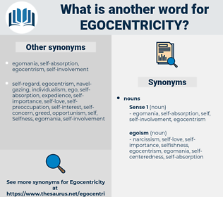 egocentricity, synonym egocentricity, another word for egocentricity, words like egocentricity, thesaurus egocentricity