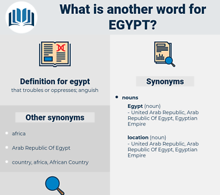egypt, synonym egypt, another word for egypt, words like egypt, thesaurus egypt