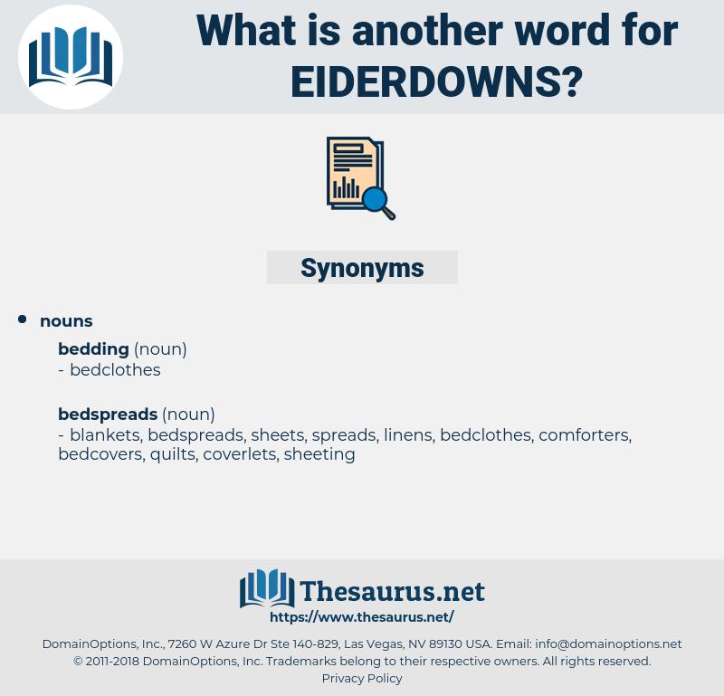 eiderdowns, synonym eiderdowns, another word for eiderdowns, words like eiderdowns, thesaurus eiderdowns