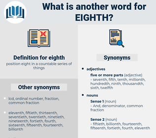 eighth, synonym eighth, another word for eighth, words like eighth, thesaurus eighth