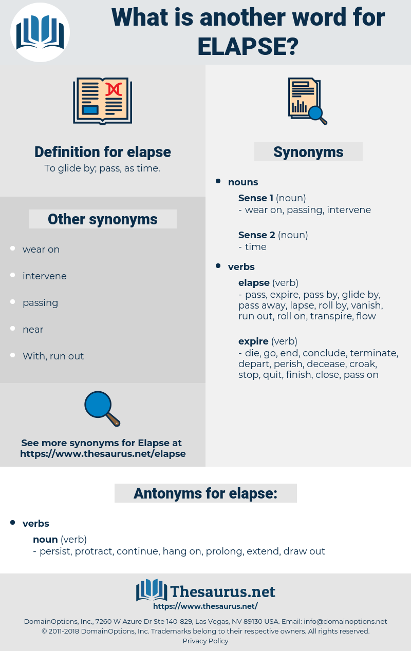 elapse, synonym elapse, another word for elapse, words like elapse, thesaurus elapse