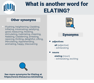 elating, synonym elating, another word for elating, words like elating, thesaurus elating
