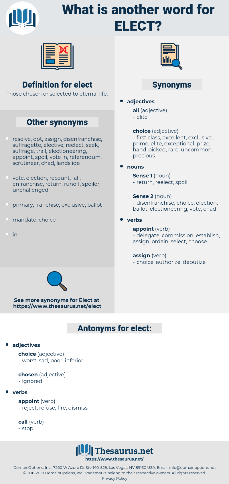 elect, synonym elect, another word for elect, words like elect, thesaurus elect