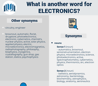 electronics, synonym electronics, another word for electronics, words like electronics, thesaurus electronics