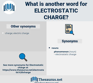 electrostatic charge, synonym electrostatic charge, another word for electrostatic charge, words like electrostatic charge, thesaurus electrostatic charge