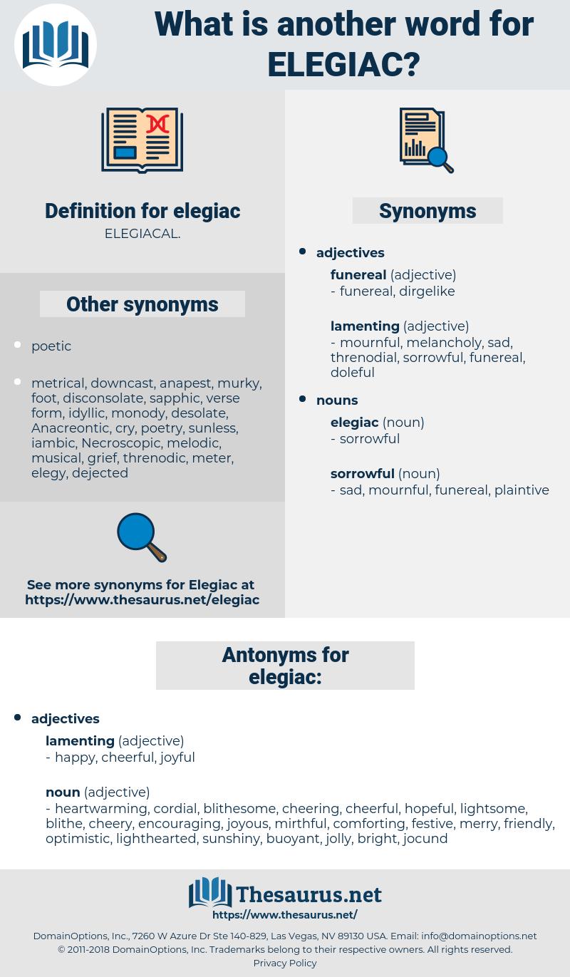 elegiac, synonym elegiac, another word for elegiac, words like elegiac, thesaurus elegiac