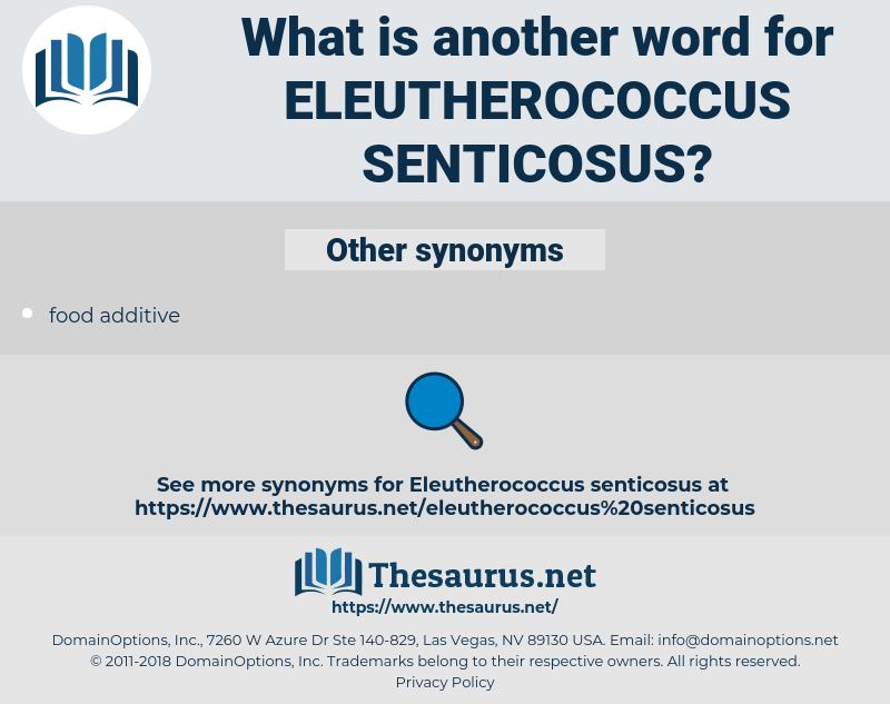 eleutherococcus senticosus, synonym eleutherococcus senticosus, another word for eleutherococcus senticosus, words like eleutherococcus senticosus, thesaurus eleutherococcus senticosus