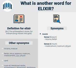 elixir, synonym elixir, another word for elixir, words like elixir, thesaurus elixir