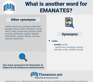 emanates, synonym emanates, another word for emanates, words like emanates, thesaurus emanates