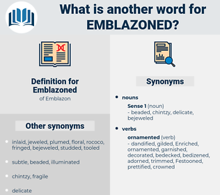 Emblazoned, synonym Emblazoned, another word for Emblazoned, words like Emblazoned, thesaurus Emblazoned