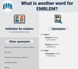 emblem, synonym emblem, another word for emblem, words like emblem, thesaurus emblem