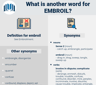embroil, synonym embroil, another word for embroil, words like embroil, thesaurus embroil