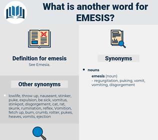 emesis, synonym emesis, another word for emesis, words like emesis, thesaurus emesis