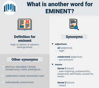 eminent, synonym eminent, another word for eminent, words like eminent, thesaurus eminent