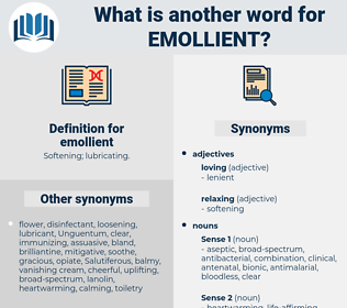 emollient, synonym emollient, another word for emollient, words like emollient, thesaurus emollient