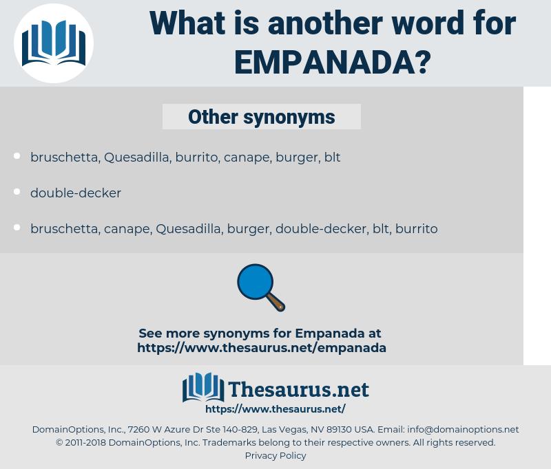 empanada, synonym empanada, another word for empanada, words like empanada, thesaurus empanada