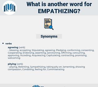 empathizing, synonym empathizing, another word for empathizing, words like empathizing, thesaurus empathizing