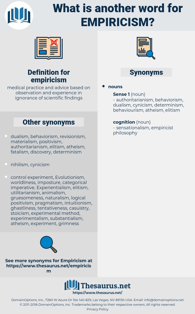 empiricism, synonym empiricism, another word for empiricism, words like empiricism, thesaurus empiricism