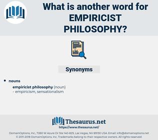empiricist philosophy, synonym empiricist philosophy, another word for empiricist philosophy, words like empiricist philosophy, thesaurus empiricist philosophy