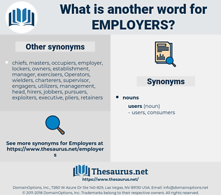 employers, synonym employers, another word for employers, words like employers, thesaurus employers