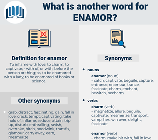 enamor, synonym enamor, another word for enamor, words like enamor, thesaurus enamor