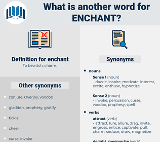 enchant, synonym enchant, another word for enchant, words like enchant, thesaurus enchant