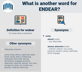 endear, synonym endear, another word for endear, words like endear, thesaurus endear