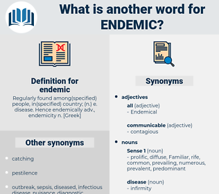 endemic, synonym endemic, another word for endemic, words like endemic, thesaurus endemic